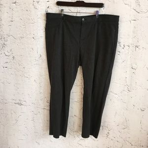 CHICO'S GREY TROUSERS 4.5 SHORT
